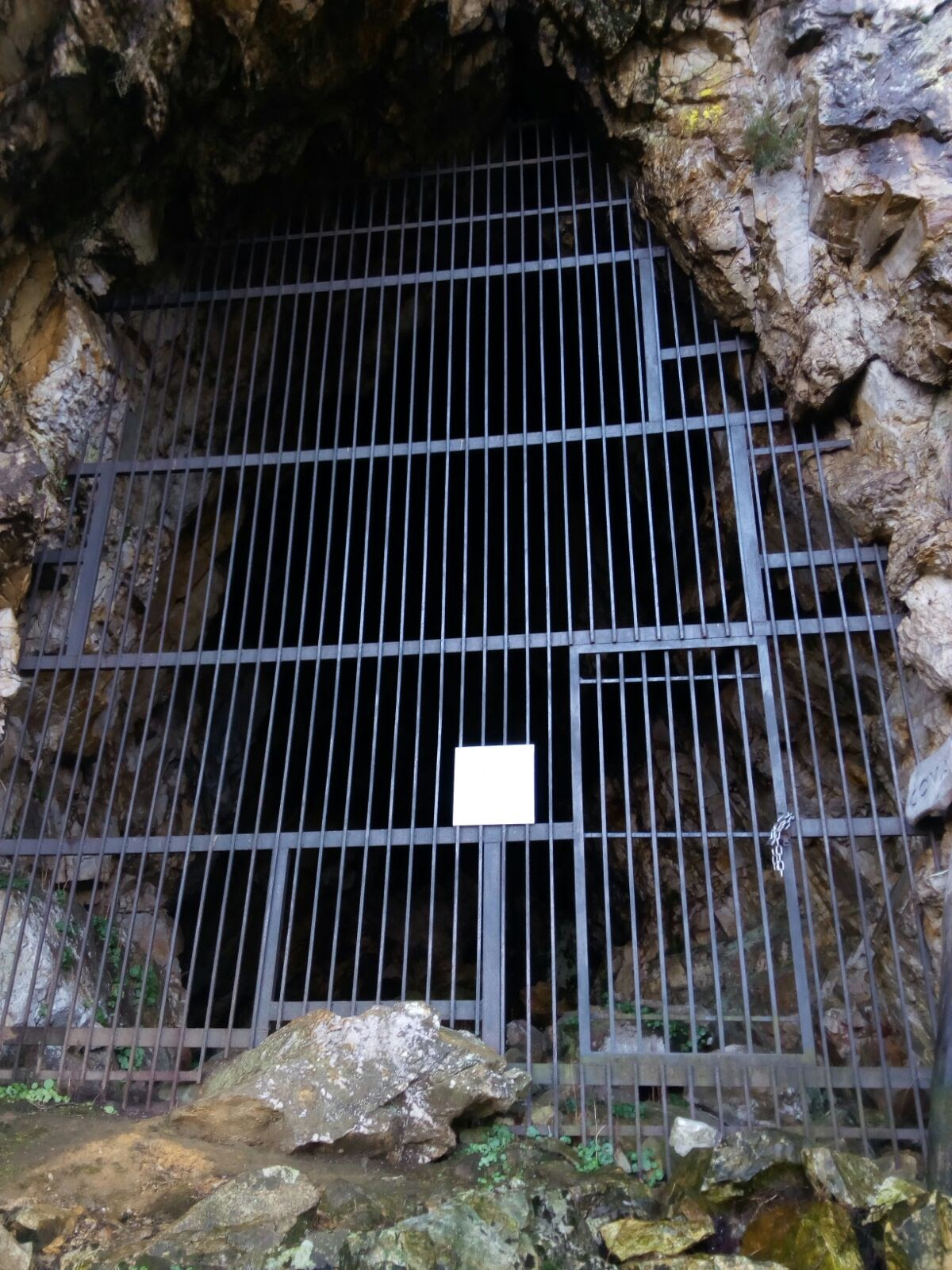 Entrada a Cova del Demo