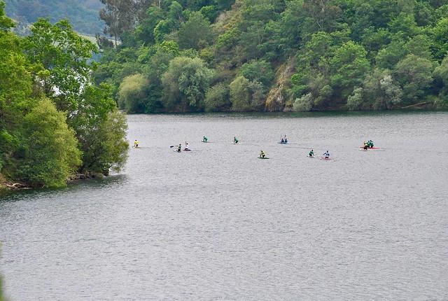 Canoas embalse de Doiras