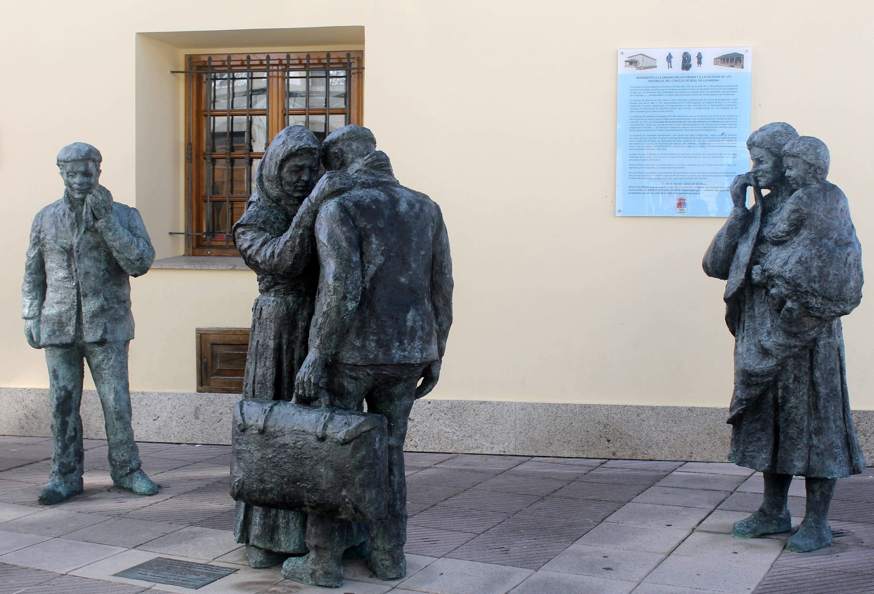 Monumento de la emigración